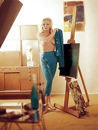 Blonde mature, Magazine, Mature blond