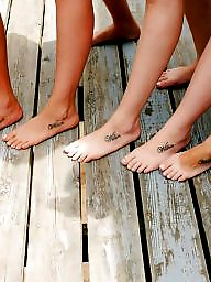 Lesbians, Feet, Teen feet, Lesbian teen