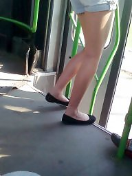 Bus, Downblouse, Teens, Hungarian, Downblouses
