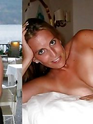 Before and after, Before, Mature slut, Slut mature