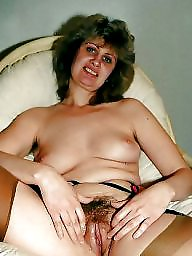 Mature hairy, Face, Mature face, Faces, Chair, Hairy stockings
