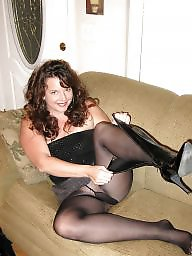 Boots, Mature stockings, Tights, Mature boots