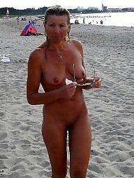 Beach, Mature beach, Milf mature
