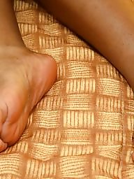 Black amateur, Ebony feet