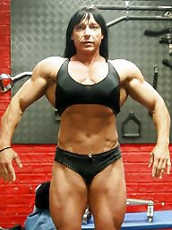 Matures, Bodybuilder, Female, Bodybuilding
