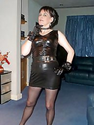 Latex, Pvc, Leather, Amateur mature, Mature leather, Mature pvc