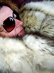 Fur, Coat, White