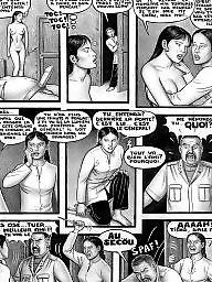 Cartoon, Village, Cartoon anal