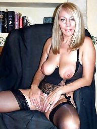 Lingerie, Grannies, Mature stockings