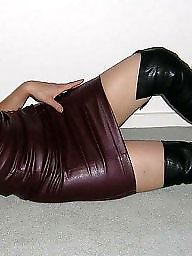 Latex, Leather, Pvc, Boots, Mature leather, Mature boots