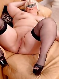 Spreading, Spread, Bbw stockings, Bbw spreading, Sexy bbw, Bbw spread