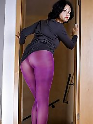 Tight, Tease, Tights, Purple