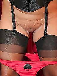 Upskirt, Knickers, Upskirt stockings
