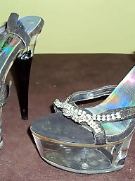 High heels, Cummed, Hard