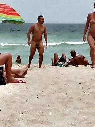 Wifes, Beach, Nude beach, Voyeur beach, Nudes, Nude wife