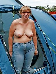 Flashing, Outdoors, Flashing tits, Amateur big tits