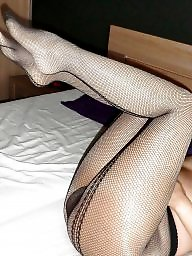 Pantyhose, Fishnet, Amateur pantyhose, Suck, Cock sucking