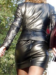 Boots, Pvc, Latex, Leather, Mature leather, Mature pvc