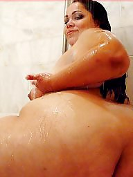 Shower, Bbw big ass, Showers, Bbw big asses