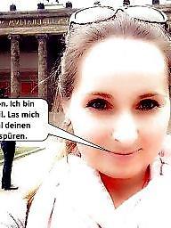 German, Captions, German captions, German caption, German amateur