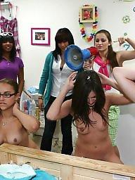 Group, Lesbians, Party