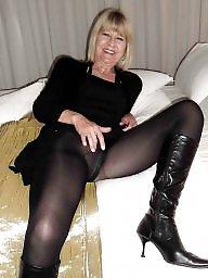 Mature pantyhose, Pantyhose mature, Mature lady, Amateur mature
