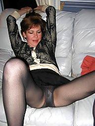 Pantyhose, Mature pantyhose, Pantyhose mature, Lady, Mature lady