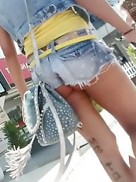 Candid, Busty, Upskirt ass, Best
