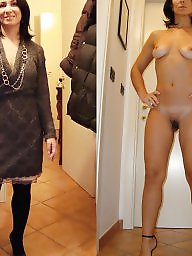 Dressed undressed, Mature dressed, Mature dress, Undressing, Undressed, Dresses undressed