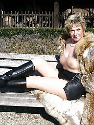 Mature, Mature amateur, Fur