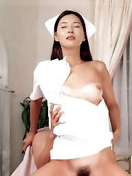 Nurse, Japanese, Vintage, Vintage hairy, Nurse asian, Hairy asian