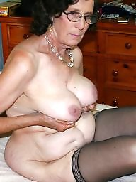 Granny, Granny tits, Granny stockings, Granny mature, Mature tits, Stocking mature