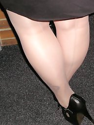 Pantyhose, Pantyhose upskirt, Tights, Tight ass, Upskirt ass, Heels