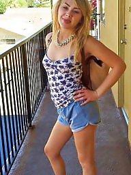 Cute, Private, Blonde teen