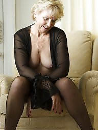Mature, Mature stockings, Blonde mature, Mature blonde, Stocking mature