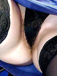 Upskirt stockings, Mirror, Ups