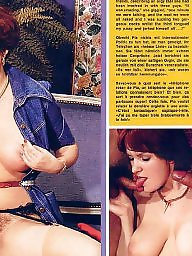 Retro, Magazine, Group sex, Vintage hairy, Retro sex, Hairy vintage