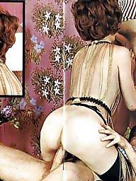Blowjob, Magazine, Vintage hairy