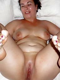 Mom, Bbw, Spreading, Fat, Mature spreading, Fat mature
