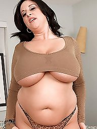 Bbw milf, Bbw boobs
