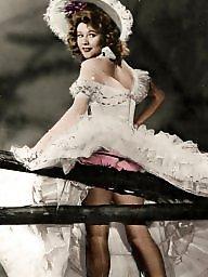 Vintage, Ladies, Amateur stockings