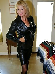 Pvc, Leather, Milf leather, Femdom milf