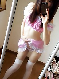 Japanese, Student, Asian amateur, Goddess, Amateur lingerie