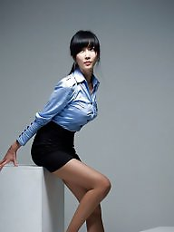 Asian, Upskirts, Office, Ladies