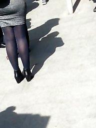 Legs, Spy, Romanian, Leg, Amateur nylon
