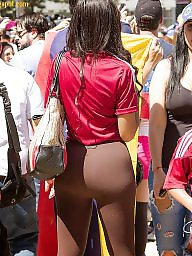 Transparent, Cameltoe, Street, Camel, Toes
