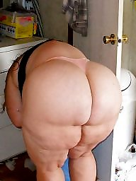 Housewife, Mature bbw ass, White, Sexy bbw, Mature sexy, Mature asses
