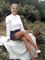 Outdoor, Legs, Leggings, Outdoors, Upskirt stockings