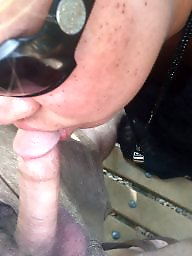 Outdoors, Outdoor, Suck, Sucking, Bbw blowjob, Bbw outdoor