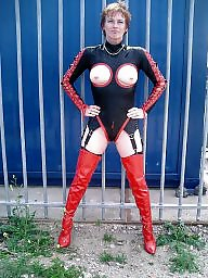Latex, Leather, Pvc, Mature leather